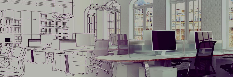 travaux et aménagement bureaux