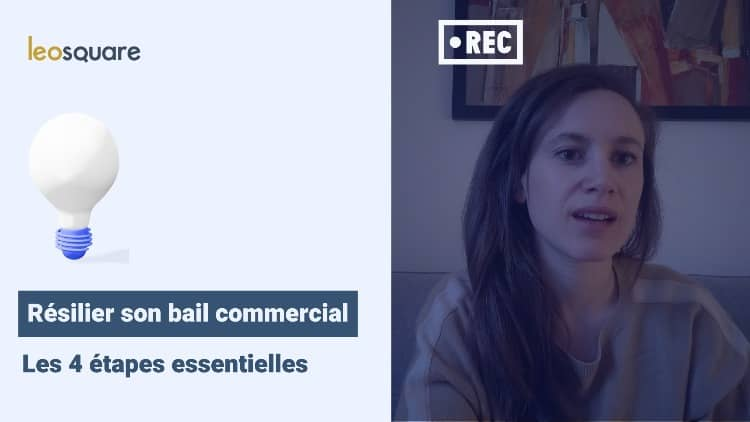 Resiliation bail commercial 36