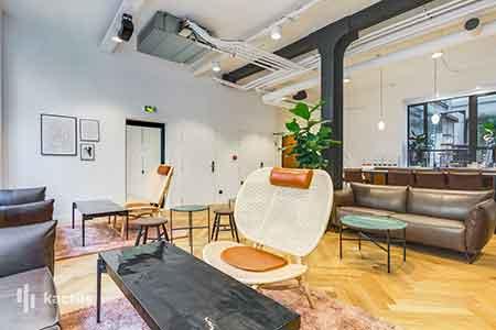 Patchwork coworking Paris 2 espace de vie