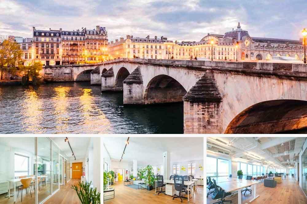 Location de bureaux à Paris 1er 75001