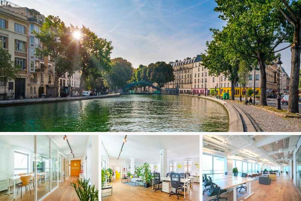 Bureaux à louer Paris 10