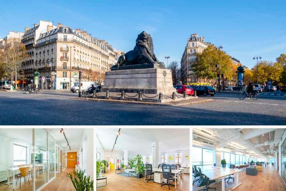 Bureaux à louer Paris 14