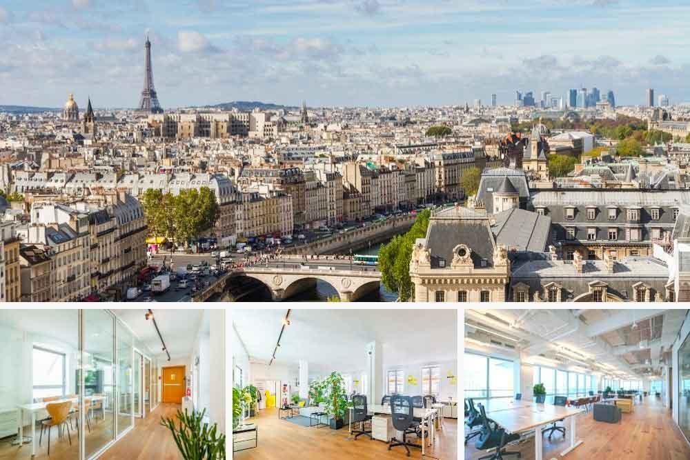 Bureaux à louer Paris 19