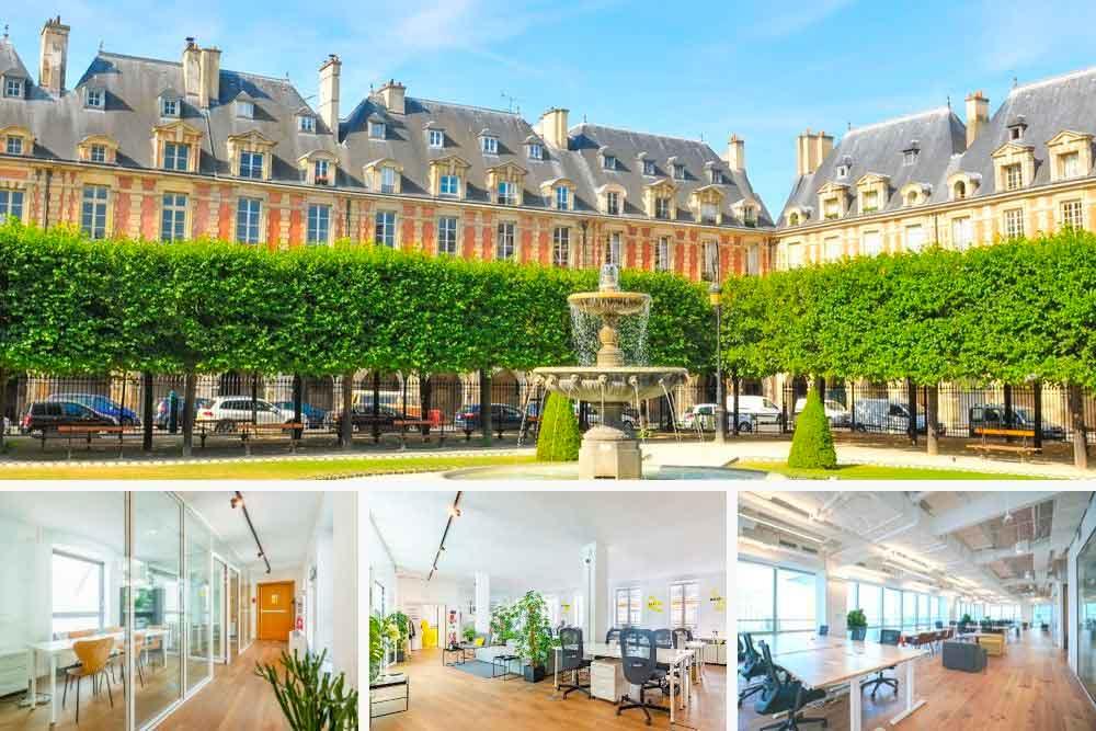 Bureaux à louer Paris 4