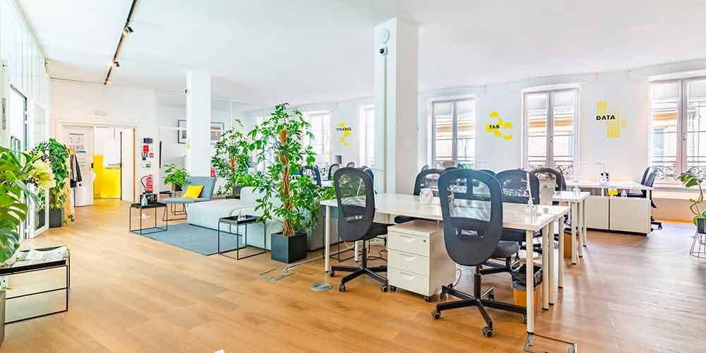 Choix de bureaux startup