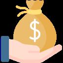 Gain financier emprunt bancaire local professionnel